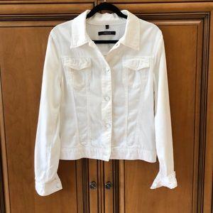 J Brand White Jacket